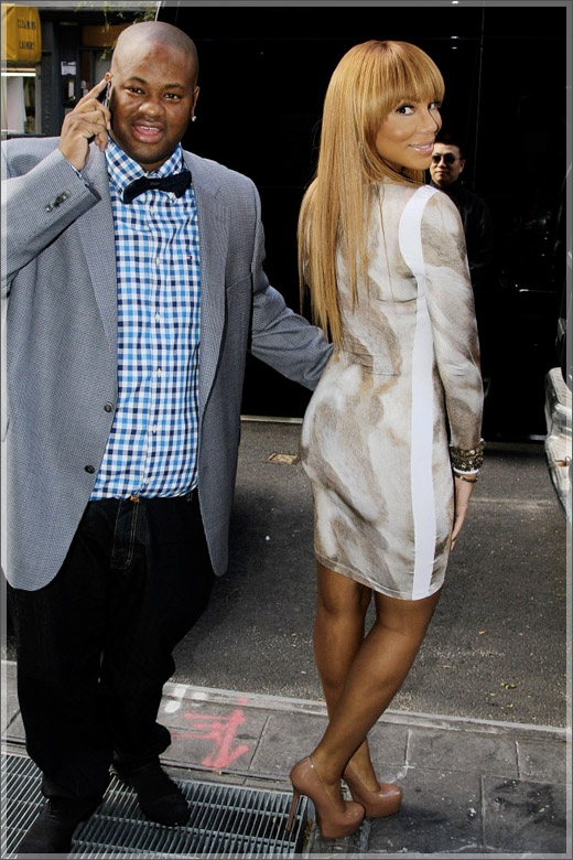 Tamar Braxton and husband Vince, have decided to respond to Tamar skin ...